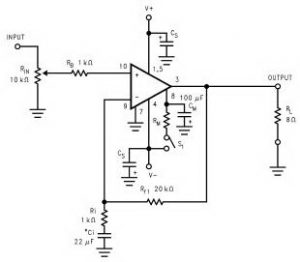 lm3886 ic audio power amplifier circuit circuits99